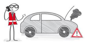 Notruf Pannenhilfe Autopanne Automobilclub